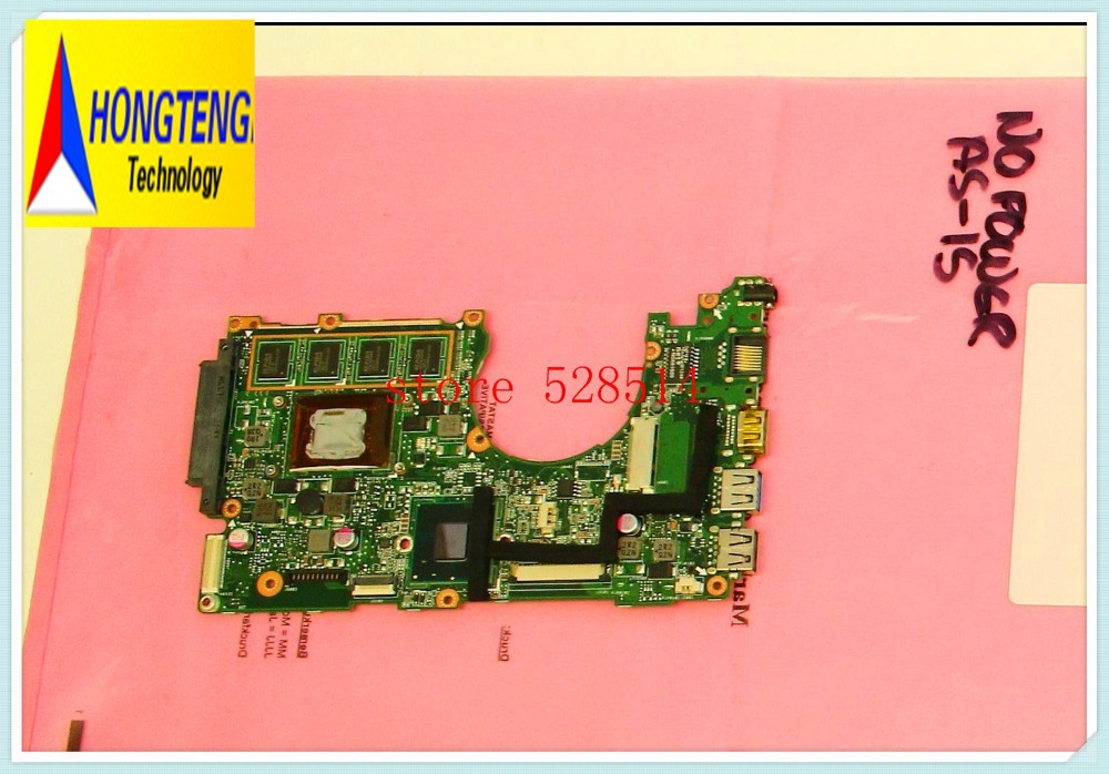 One Board for asus Q200E MAIN BOARD / Q200E MOTHERBOARD Q200E-BSI3T08 I3-3217U 60-NFQMB1B01-A07 100% Test ok