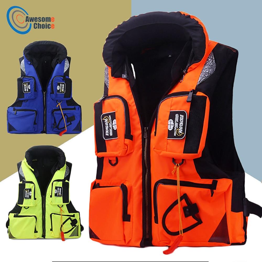 3 Size Vissen Vest Verstelbare Mesh Mutil-pocket Outdoor Sport Leven Veiligheid Jas Zwemmen Zeil Voor Pesca Vissen Kleren Producten Hot Sale