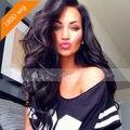 180 Densidade Cheia Do Laço Peruca de Cabelo Virgem Brasileiro Do Cabelo Humano perucas Lace Front Wigs Glueless Full Lace Wig Para Preto mulheres
