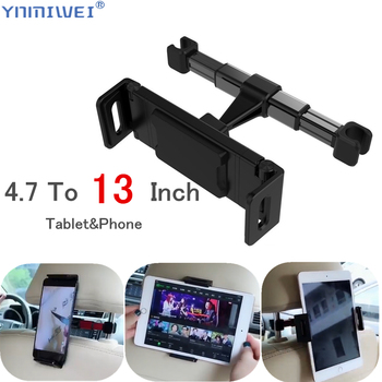 Tablet Car Holder For 4.7-13 in & Phone Back Seat Headrest Mounting Accessories iPad Pro 12.9'' - discount item  39% OFF Tablet Accessories