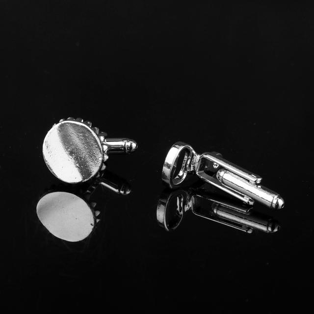 Funny Cufflinks Bottle Cap Design Cuff Buttons Pins Shirt Wedding Dress Links