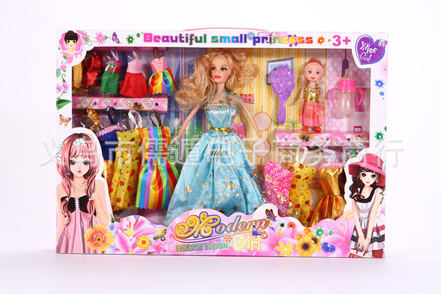 House Toys For Girls : The new family of four ten fantasy princess girls play house toys