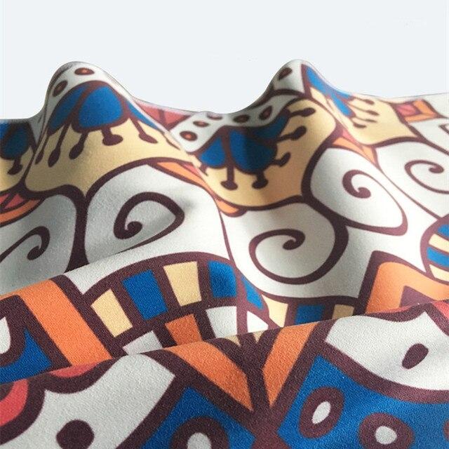 Printed Yoga Towel Microfiber 183*65cm Non Slip Yoga Blanket Absorb Sweat Yoga Mat Cover Towel Pilates Fitness Beach Mat Towel 4
