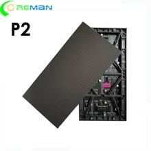 Высокое качество по самой низкой цене P2 светодиодный модуль 256 мм x 128 мм, P2 HD светодиодный видео настенный светодиодный экран модуль 128x64 hub75 smd3 в 1