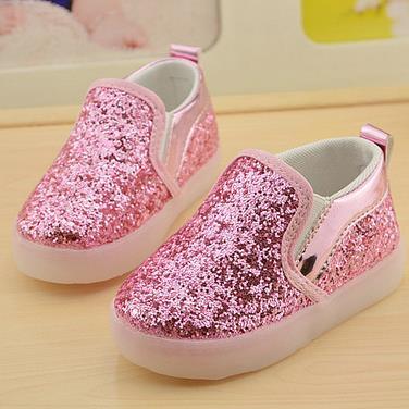 Taille 21-30 Nouveau Bébé Filles garçon LED Chaussures Légères Enfant Anti-Slip Sport Bottes Enfants Sneakers ISVBxDUFaZ