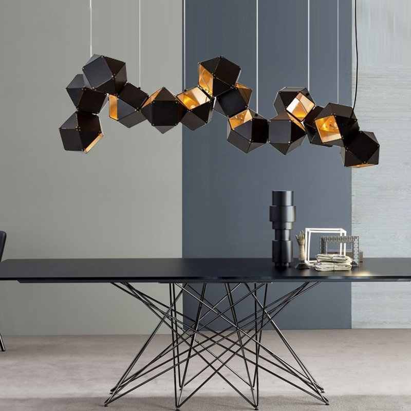 Lighting Modern Chandelier Welles Dna