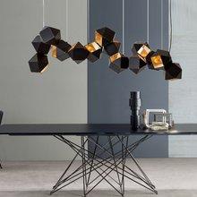 Modern Chandelier Welles DNA Design for Living Room Restaurant Bar Lobby free shipping