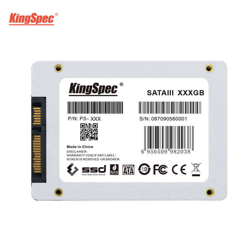 Kingspec 7mm 2.5 Cal P3-256 SATAIII 6 GB/S interfejs SSD 120GB 128 GB dysk półprzewodnikowy dysk twardy dla SSD 240 GB 512GB 1TB