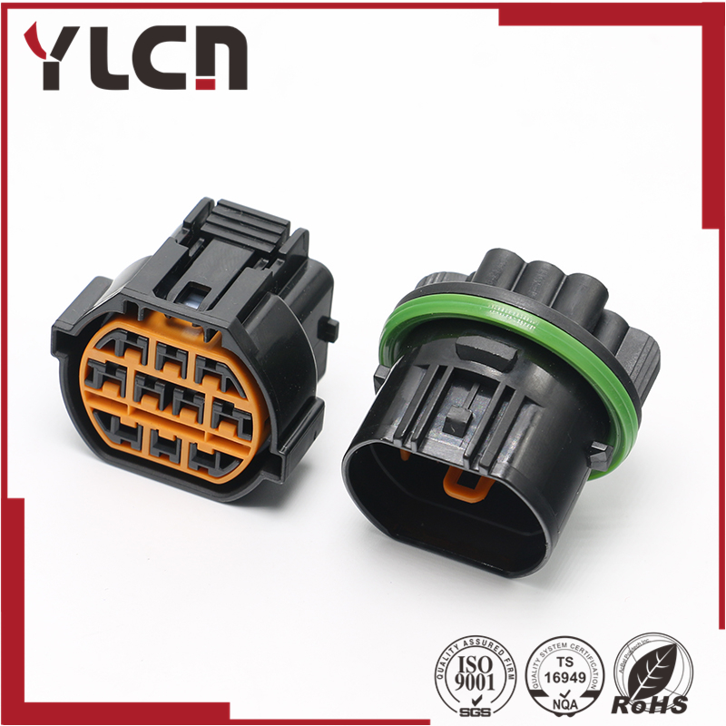 10 Pin female/male waterproof car plugs connector for KUM KET10 Pin female/male waterproof car plugs connector for KUM KET