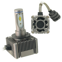 All In One 12V 24V 72W D1S D1R D1C D3S D3R D3C LED Car Headlight kit replacement original HID Lamp Easy install D1 D3 bulb