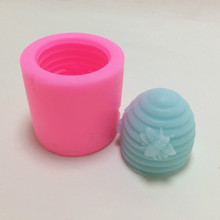 bee 3D silicone mold cake decorating tool Handmade Soap candle Making mould