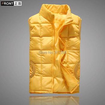 New Arrival spring autumn Winter sleeveless women's vest coat lady fashion cotton-padded casual waistcoat