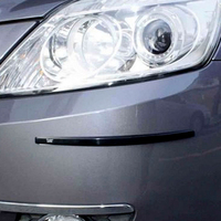 New WUPP 4PCS Car Door Edge Guards Trim Molding Protection Strip Scratch Protector Set Anti Rub