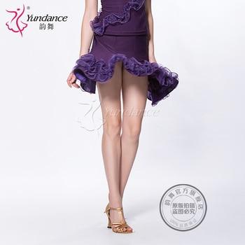 Customized Lady Latin Dancing Skirt Modern Dance Costume Adult and Kids Samba Cha-cha Rumba Dancing Dress Promotion  B-2764