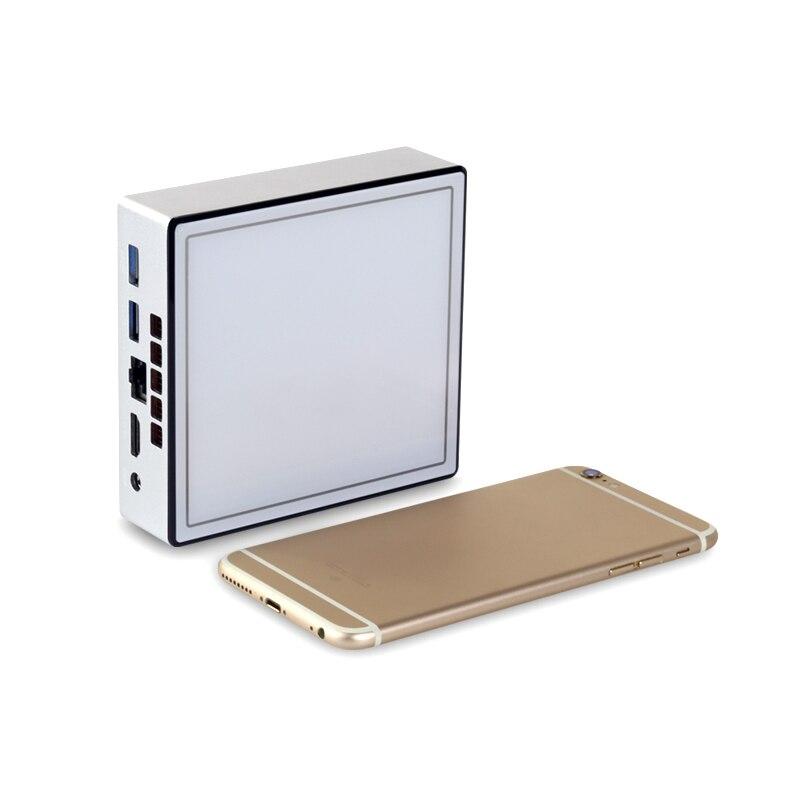 Мини ПК Intel Core i3 4010Y i5 4200Y i7 5500U Windows 10 Linux HTPC HDMI 4 * USB 300mbps WiFi Gigabit Ethernet DDR3L mSATA Nettop