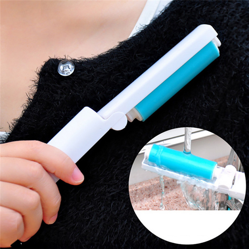 1pc Static Electrostatic Clothing Lint Dust Remover Sweeper Brush Pets Hair Cleaner for furniture bedding car seat
