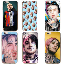 Super star Lil Peep Transparent Hard PC Phone Case For iPhone 5 5S SE 6 6S Plus 7 7 Plus 8 8 Plus X 10 Phone Bags Cover