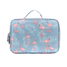 Vanity Necessaire Trip Women Travel Toiletry Wash Bra Underwear MakeUp Makeup Case Cosmetic Bag Organizer Accessories