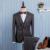 2016 nova primavera dos homens de negócios ternos casuais define / homens de três peças terno de três conjunto separado / colete masculino + Blazers + calça