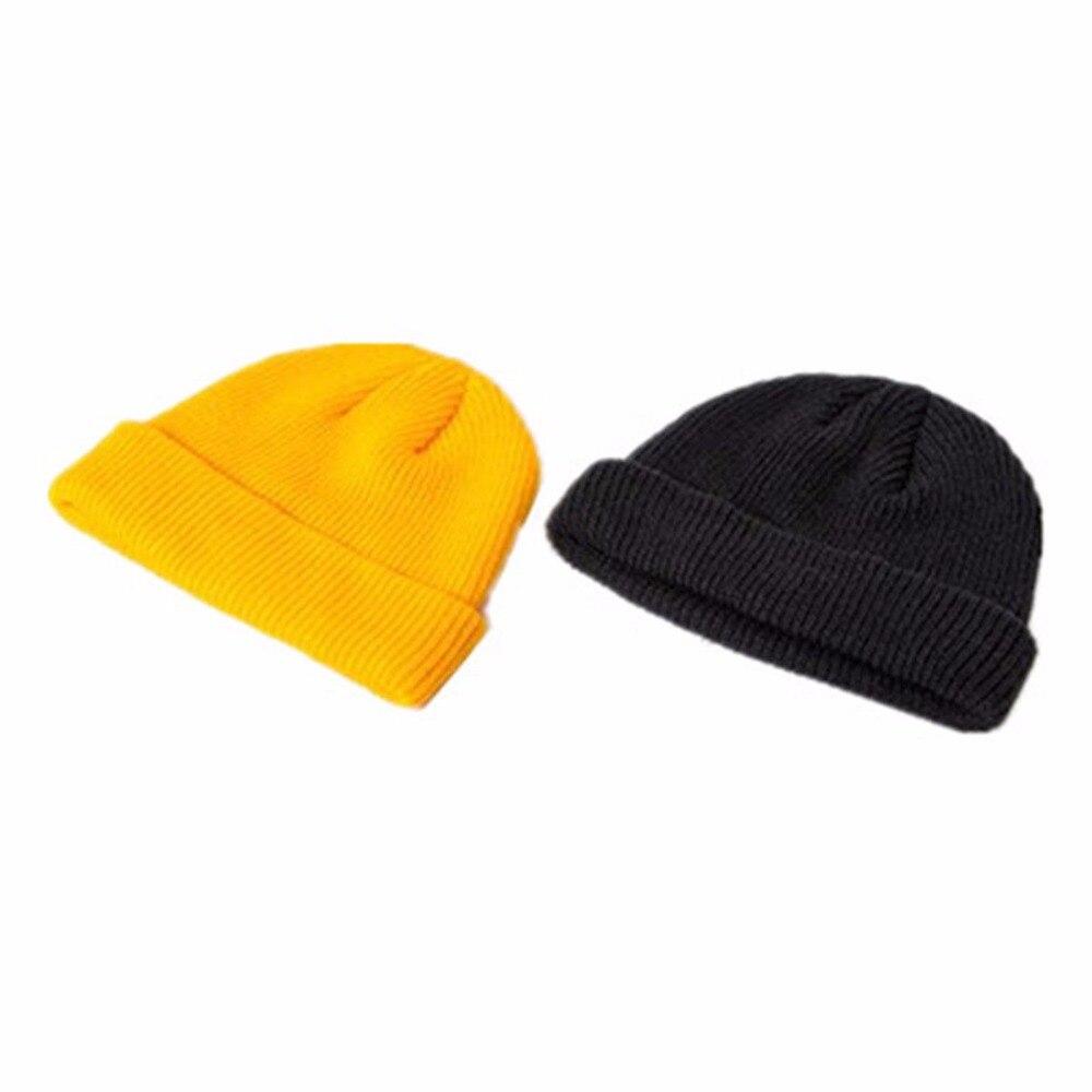 0a7f7ad8d48 DDeehs Hot Unisex Men Women Beanie Hat Warm Ribbed Winter Turn Ski  Fisherman Docker Hat-in Skullies   Beanies from Apparel Accessories on  Aliexpress.com ...