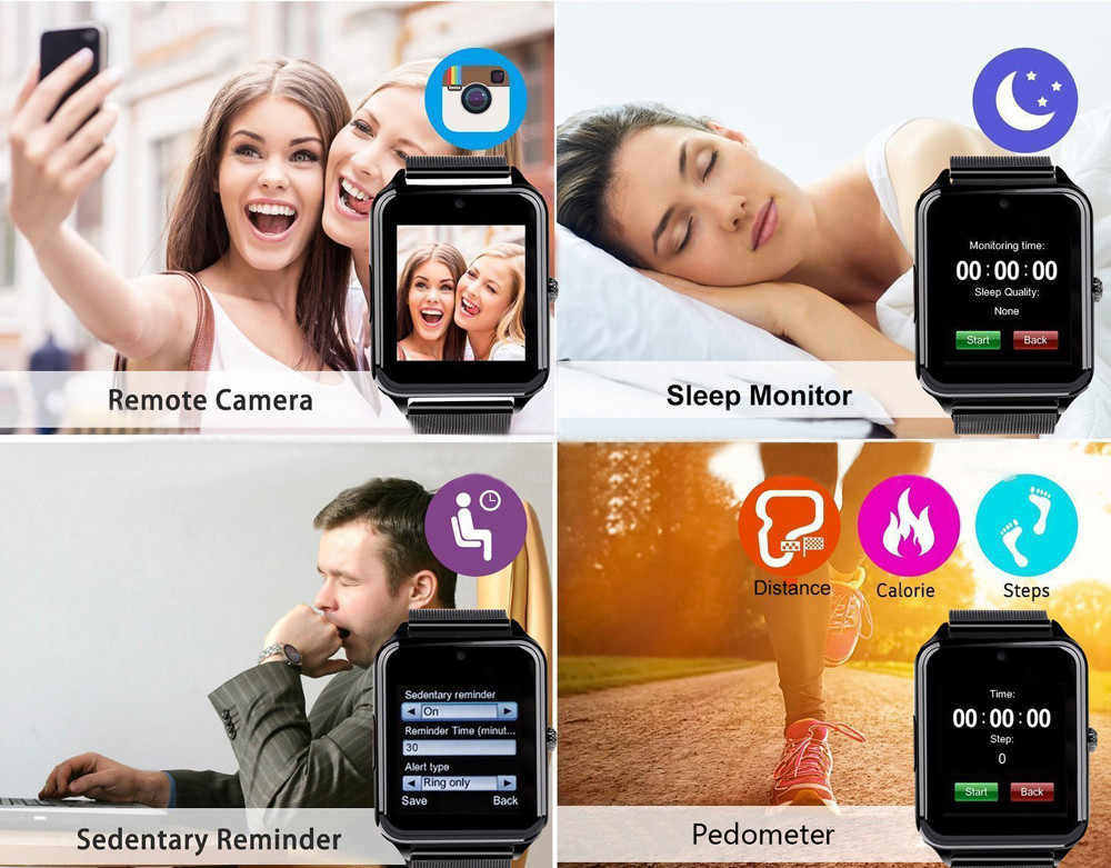 Beautyss Z60 Plus inteligentna opaska tętna Monitor ciśnienia krwi Bluetooth zegarek do fitness amazfit bip zegarek Smart watch IP68