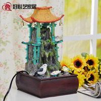 Home Decoration Rockery Water Fountain Resin Crafts Creative Gifts Home Accessories Interior Decoration