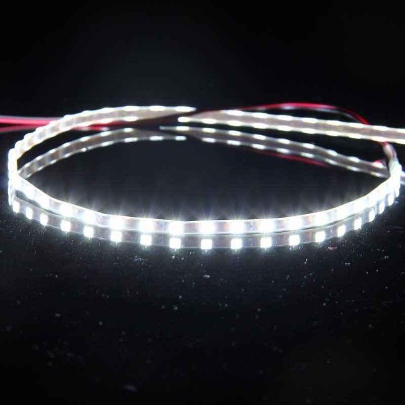 POSSBAY Car Styling Flexible LED Strip Daytime Running Lights Waterproof Atmosphere Lamp 45cm/90cm 1210 45ED/90LED 12V