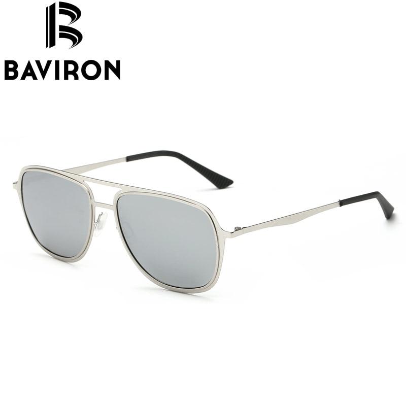BAVIRON Kacamata Percontohan Klasik Lelaki Cermin Kacamata Mengemudi - Aksesori pakaian - Foto 5