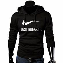 2017 New Brand Sweatshirt Men Hoodies Fashion Solid Fleece Hoodie Mens Pullover Men's Tracksuits Moleton Masculino(China)