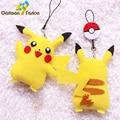 2pcs/set Japanese Pikachu DIY Plush Toys Kawaii Toy Soft Stuffed Animals Doll Brinquedos Gifts