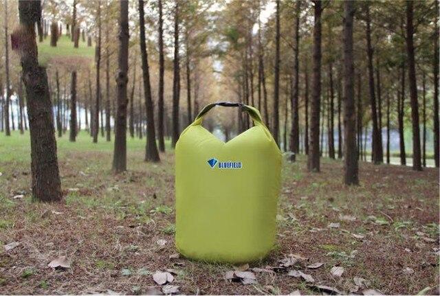1pcs Outdoor Camping BlueField 20L Waterproof Bag Dry Bag for Canoe Kayak Rafting Sports hiking Travel Kit free shipping