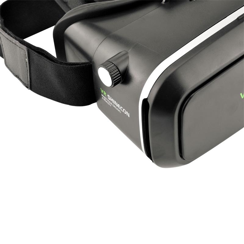 18 Original Shinecon VR Pro Virtual Reality 3D Glasses Headset VRBOX Head Mount Google Cardboard Helmet For Smartphone 4-6inch 24
