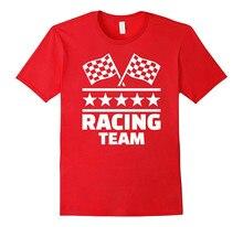 Offensive T Shirts Sleeve Top Crew Neck Mens Racinger Team Shirt