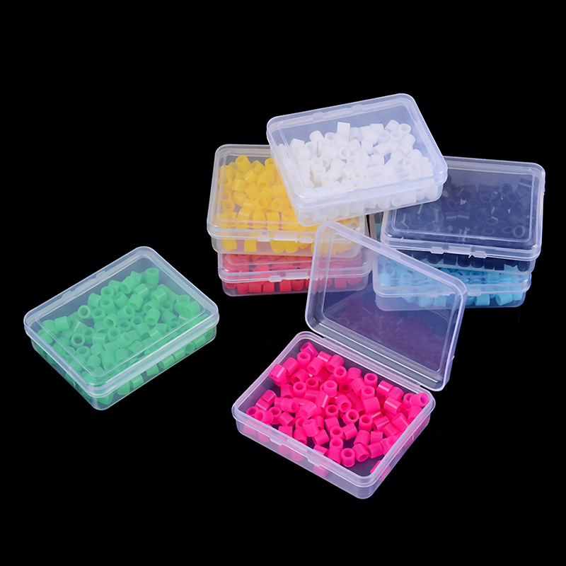 100Pcs/Box Orthodontic Code Rings Multi-Color Universal Dental Instrument Autoclavable Rings Wholesale