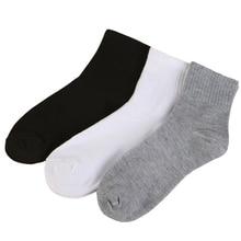 1 Pair Fashion Men's Socks Funny Cotton Classic Black White Gray Crew Socks for Men Business Casual Coolmax Socks Male Dress fashionable striped style men s socks black white pair