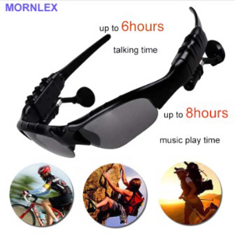 Wireless bluetooth sunglasses earphone headphone with mic bluetooth headset stereo headphone sports camera fones 5PCS wholesale цена и фото