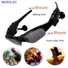 Wireless bluetooth sunglasses earphone headphone with mic headset stereo sports camera fones 5PCS wholesale