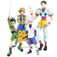 Anime Hunter X Hunter Gon Freecss Killua Zoldyck Kurapika Hisoka figure Hunter X Hunter Killua PVC Figure model toys