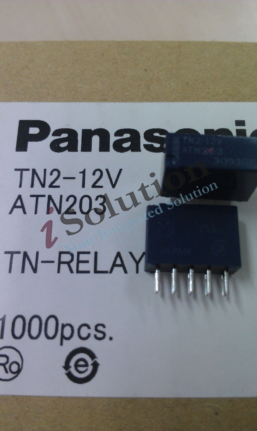 New Original Tn2 12v Atn203 Dc12v 12vdc Relay In Relays From Nais 12 Volt Home Improvement On Alibaba Group