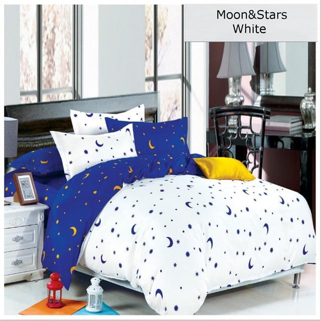 Bettwäsche Set Bettbezug Setzt Zebra Streifen Sterne Mond Bettlaken ...