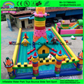 Castelo inflável, casa bouncy inflável, seguranças infláveis comerciais usados para venda