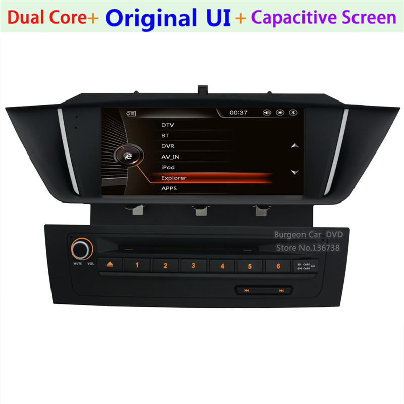9 touch screen car dvd player gps navigation system for bmw x1 e84 2009 2013 bluetooth radio. Black Bedroom Furniture Sets. Home Design Ideas