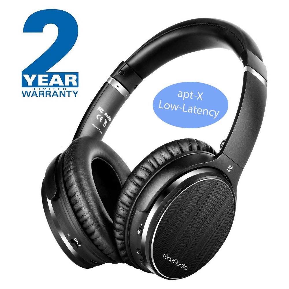 OneAudio Active Noise Cancelling Headphones Bluetooth 4.2