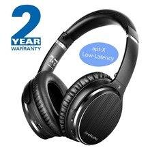 Наушники OneAudio с активным шумоподавлением Bluetooth 4,2 Беспроводные наушники с apt-X низкой задержкой Складная гарнитура для ПК ТВ