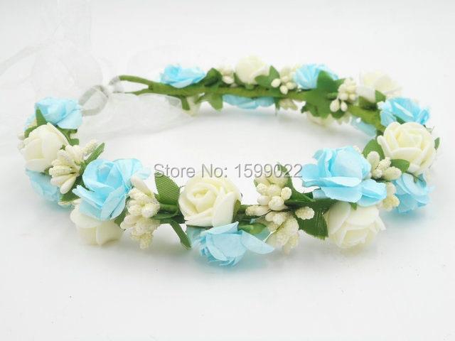 Go Blue Baseball Inspired Princess Flower Crown