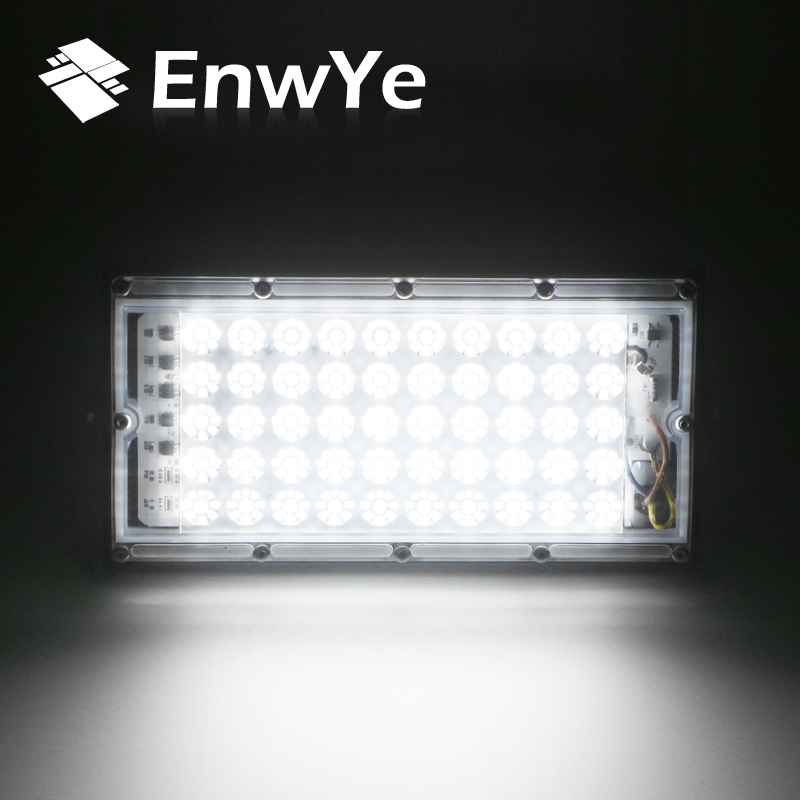 EnwYe 50W perfect power LED Flood Light Floodlight LED street Lamp 220V 240V waterproof Landscape Lighting IP65 led spotlight 2