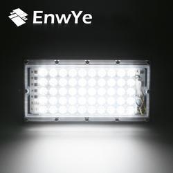 EnwYe 50 W идеальное питание Светодиодный прожектор Прожектор светодиодный фонарь 220 V 240 V водонепроницаемый внешний светильник IP65