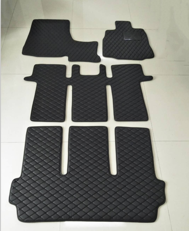 Good quality! Custom special car floor mats + one trunk mat for Nissan Elgrand E52 7 8 seats 2019 2010 waterproof rugs carpets Floor Mats Automobiles & Motorcycles - title=
