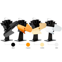 Generate Electric By Its Own Heat Magic Self Operation Heat Powered Stove Fan