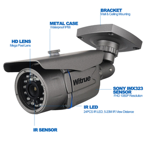 Image 3 - AHD Camera1080P Surveillance Camera Sony IMX323 20M Night Vision CCTV Camera IR Outdoor Waterproof Security Camera